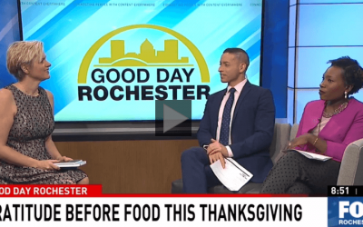 Gratitude before food this Thanksgiving
